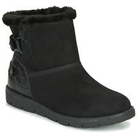 Boty Ženy Kotníkové boty Tom Tailor 93105-NOIR Černá