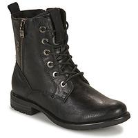 Boty Ženy Kotníkové boty Tom Tailor 93303-NOIR Černá
