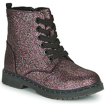 Boty Dívčí Kotníkové boty Tom Tailor 71004-VIOLET-C Fialová