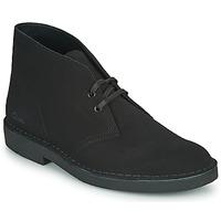 Boty Muži Kotníkové boty Clarks DESERT BOOT 2 Černá