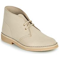 Boty Muži Kotníkové boty Clarks DESERT BOOT 2 Písková