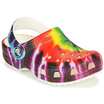 Boty Děti Pantofle Crocs CLASSIC TIE DYE GRAPHIC CLOG K