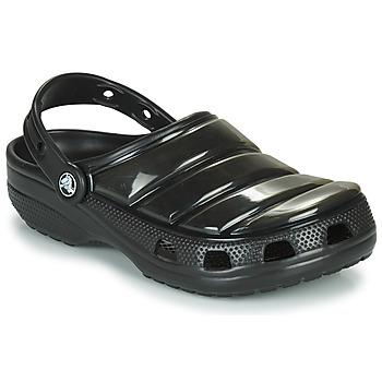 Boty Pantofle Crocs CLASSIC NEO PUFF CLOG Černá
