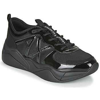 Boty Ženy Nízké tenisky Armani Exchange XV311-XDX039 Černá