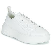 Boty Ženy Nízké tenisky Armani Exchange XCC64-XDX043 Bílá