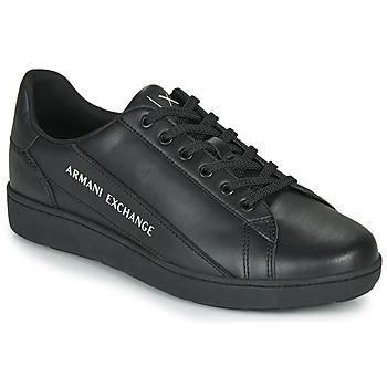 Boty Muži Nízké tenisky Armani Exchange XV262-XUX082 Černá