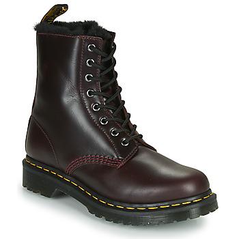Boty Ženy Kotníkové boty Dr Martens 1460 SERENA Bordó