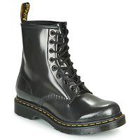 Boty Ženy Kotníkové boty Dr Martens 1460 W Stříbrná