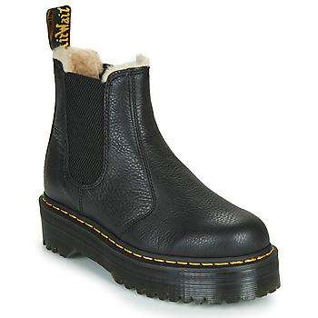 Boty Ženy Kotníkové boty Dr Martens 2976 QUAD FL Černá