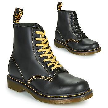 Boty Muži Kotníkové boty Dr Martens 1460 PASCAL ATLAS Černá