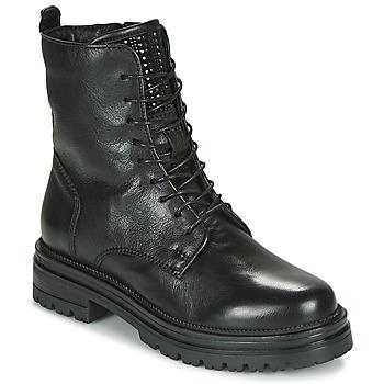 Boty Ženy Kotníkové boty Mjus DOBLE LACE Černá