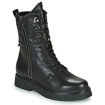 Boty Ženy Kotníkové boty Mjus TRIPLE ZIP Černá