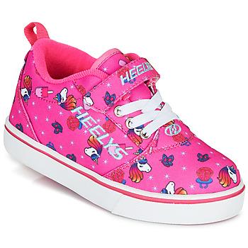Boty Dívčí Boty s kolečky Heelys PRO 20 X2 Růžová