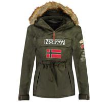 Textil Chlapecké Parky Geographical Norway BARMAN BOY Khaki