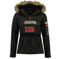 Textil Chlapecké Parky Geographical Norway BARMAN BOY Černá
