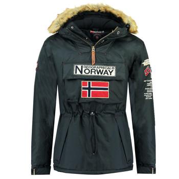 Textil Chlapecké Parky Geographical Norway BARMAN BOY Tmavě modrá