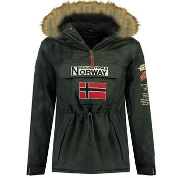 Textil Chlapecké Parky Geographical Norway BARMAN BOY Šedá