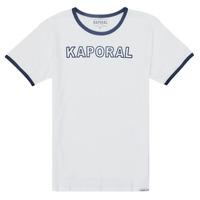 Textil Chlapecké Trička s krátkým rukávem Kaporal ONYX Bílá