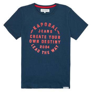 Textil Chlapecké Trička s krátkým rukávem Kaporal ORVAL Tmavě modrá