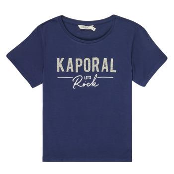 Textil Dívčí Trička s krátkým rukávem Kaporal MAPIK Tmavě modrá
