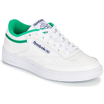 Boty Nízké tenisky Reebok Classic CLUB C 85 Bílá / Zelená