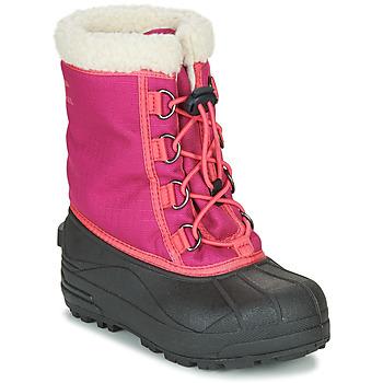 Boty Dívčí Zimní boty Sorel YOUTH CUMBERLAND Růžová