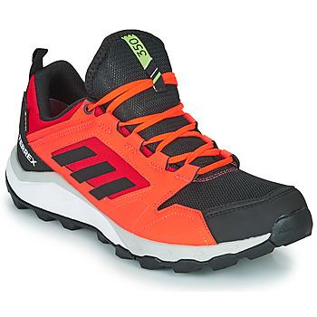 Boty Muži Běžecké / Krosové boty adidas Performance TERREX AGRAVIC TR G Červená / Černá