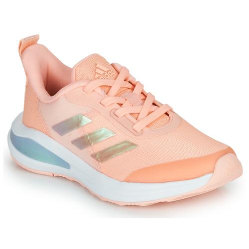 Boty Dívčí Nízké tenisky adidas Performance FORTARUN  K Růžová