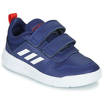 Boty Děti Nízké tenisky adidas Performance TENSAUR I Modrá / Bílá