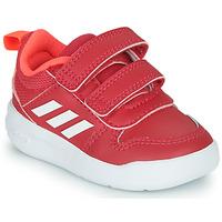 Boty Dívčí Nízké tenisky adidas Performance TENSAUR I Růžová / Bílá