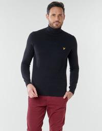 Textil Muži Svetry Lyle & Scott KN1020V Černá