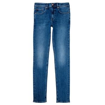 Textil Chlapecké Rifle skinny Teddy Smith FLASH Modrá