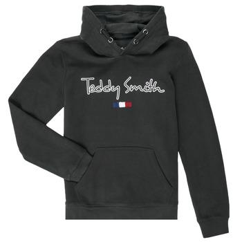 Textil Chlapecké Mikiny Teddy Smith SEVEN Tmavě modrá