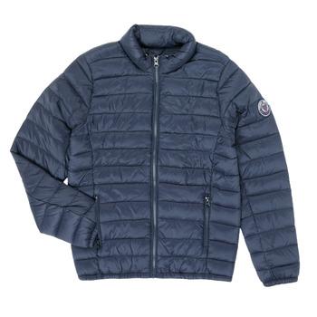 Textil Chlapecké Prošívané bundy Teddy Smith BLIGHT Tmavě modrá