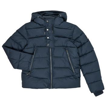 Textil Chlapecké Prošívané bundy Teddy Smith OVER Tmavě modrá