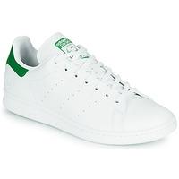 Boty Nízké tenisky adidas Originals STAN SMITH VEGAN Bílá / Zelená