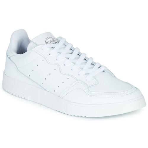Boty Nízké tenisky adidas Originals SUPERCOURT Bílá