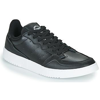 Boty Nízké tenisky adidas Originals SUPERCOURT Černá