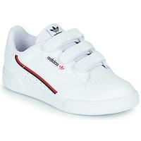 Boty Děti Nízké tenisky adidas Originals CONTINENTAL 80 CF C Bílá