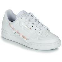 Boty Dívčí Nízké tenisky adidas Originals CONTINENTAL 80 J Bílá