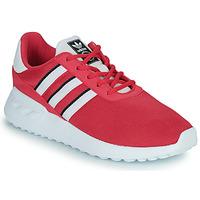 Boty Dívčí Nízké tenisky adidas Originals LA TRAINER LITE C Růžová