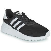 Boty Děti Nízké tenisky adidas Originals LA TRAINER LITE C Černá / Bílá