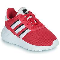 Boty Dívčí Nízké tenisky adidas Originals LA TRAINER LITE EL Růžová