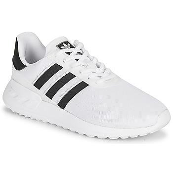 Boty Děti Nízké tenisky adidas Originals LA TRAINER LITE J Bílá / Černá