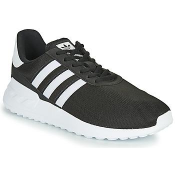 Boty Děti Nízké tenisky adidas Originals LA TRAINER LITE J Černá / Bílá