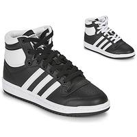 Boty Děti Kotníkové tenisky adidas Originals TOP TEN J Černá / Bílá
