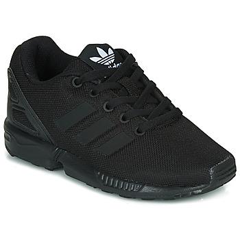 Boty Děti Nízké tenisky adidas Originals ZX FLUX C Černá