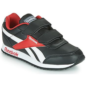 Boty Děti Nízké tenisky Reebok Classic REEBOK ROYAL CLJOG Černá / Bílá / Červená
