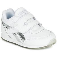 Boty Dívčí Nízké tenisky Reebok Classic REEBOK ROYAL CLJOG Bílá / Stříbřitá
