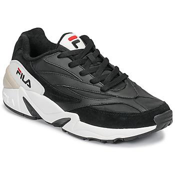 Boty Muži Nízké tenisky Fila V94M N LOW Černá